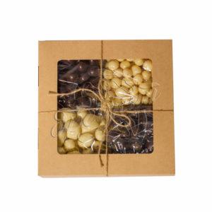 Подарочный набор  «Орехи и фрукты в шоколаде»