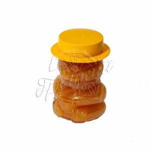 Подарочный мёд в стеклянном мишке