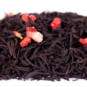 Черный чай «Земляника со сливками»