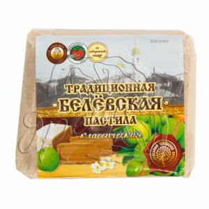 Белёвская пастила с брусникой 400 гр.