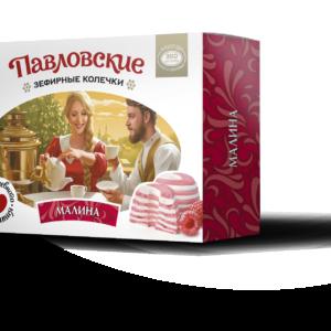 Зефирные колечки со вкусом  ягодное ассорти