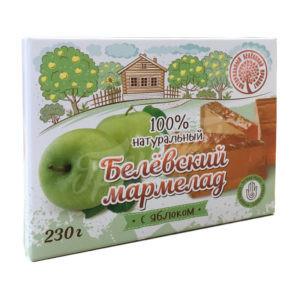 Натуральный белёвский мармелад Яблоко