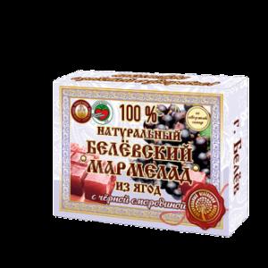 Белевский натуральный мармелад Черная смородина