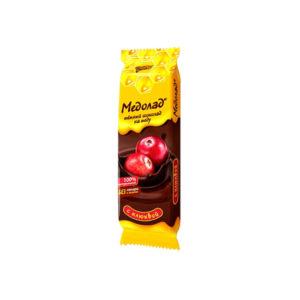 Темный шоколад «Медолад» с клюквой