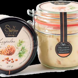Крем-мед с кедровыми орешками