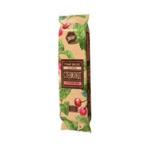 Тёмный шоколад «Стевилад» с вишней