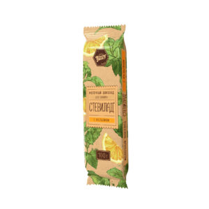 Молочный шоколад «Стевилад»  с апельсином
