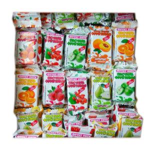 Натуральные фруктовые пастилки «Ассорти»