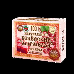 Белевский натуральный мармелад Вишня