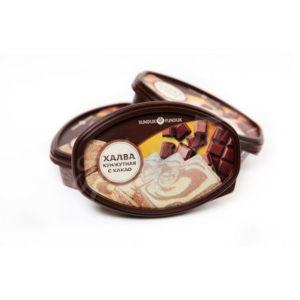 Халва кунжутная с какао