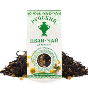 Иван чай с ромашкой