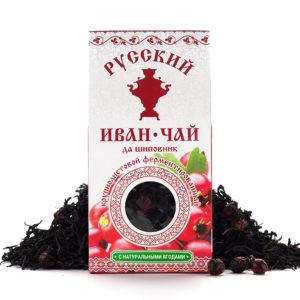 Иван чай с шиповником