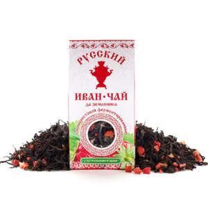 Иван чай с земляникой
